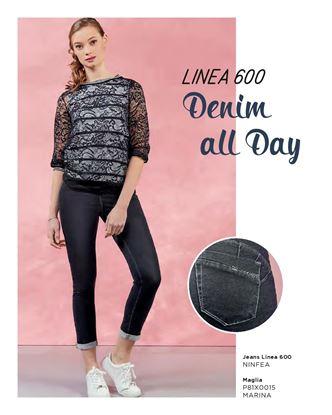 Immagine di Pantalone 5 tasche cotone Iber mod. Ninfea