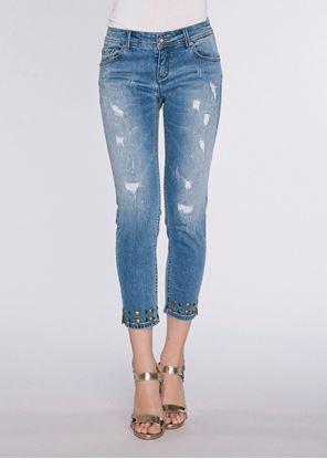 Immagine di Jeans capri con borchie Gaudi art. 811BD26003