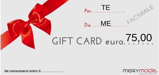 Immagine di GIFT CARD 75 EURO